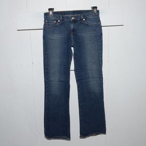 Lucky brand flare womens jeans size 8 R 6452